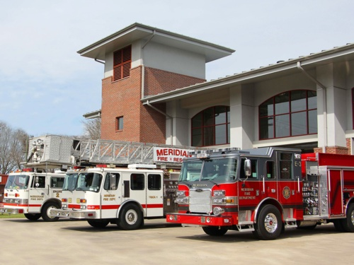 Meridian (MS) Fire Department Approved for $720k for Custom E-One Truck