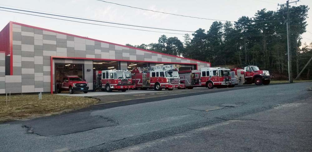Onset (MA) Firefighters Move into New Fire Station