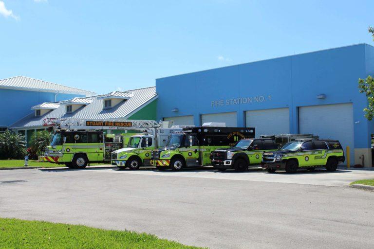 Stuart (FL) Uses $61,000 RV for Temporary Fire Station